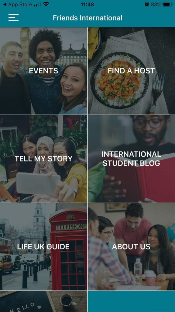 The App for International Students in the UK