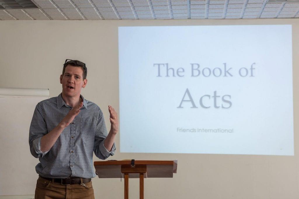 Book a Friends International Speaker